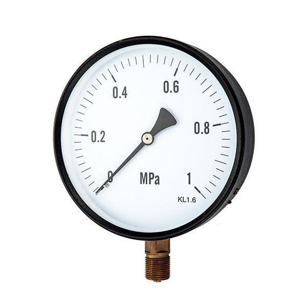 100mm bottom  pressure gauge with special internal part OKT-54
