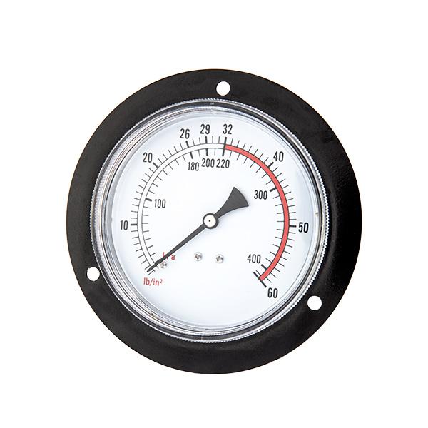 150mm back standard pressure gauge with front flange OKT-55