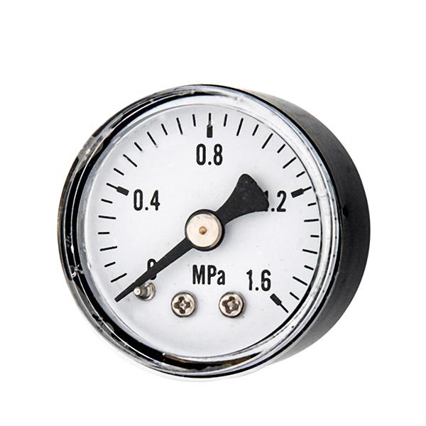 40mm back standard pressure gauge with sanp in plastic case OKT-37