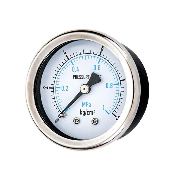 40mm steel case standard pressure gauge with bracket OKT-30