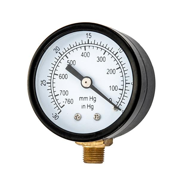 50mm bottom vacuum pressure gauge  OKT-45