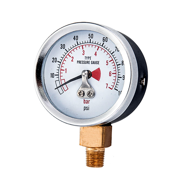 50mm bottom standard pressure gauge   mebrane type OKT-42