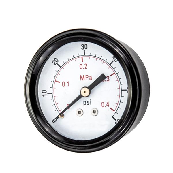 40mm back standard pressure gauge with U-clamp OKT-43