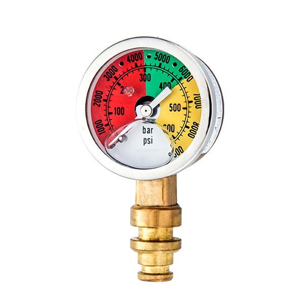 50mm special brass pressure gauge for mining  OKT-72