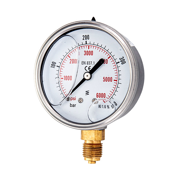 Why Is The Pressure Gauge Filled With Liquid?