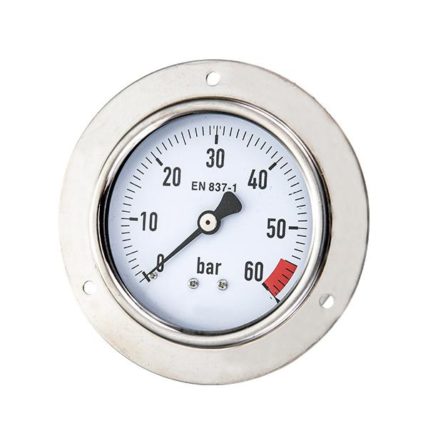63mm special pressure gauge with high case OKT-73