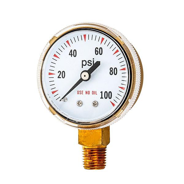 63mm  oxygen pressure gauge screw type OKT-96