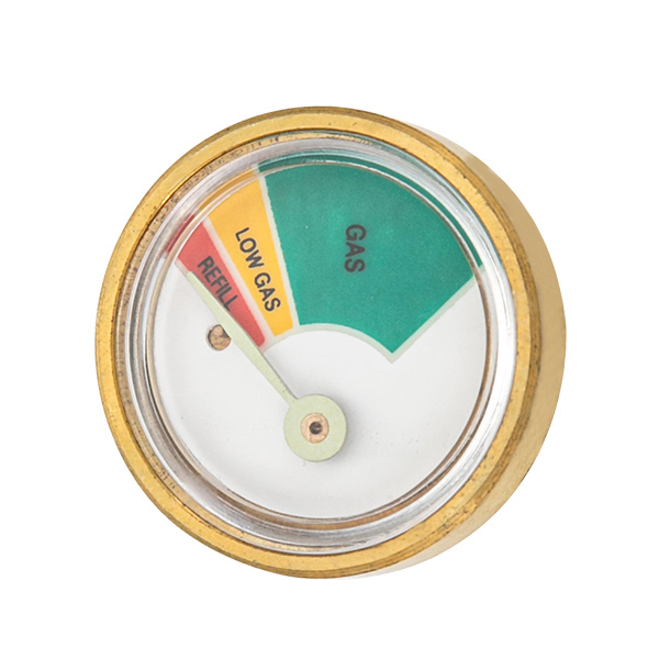 35mm pressure gauge for gas OKT-89