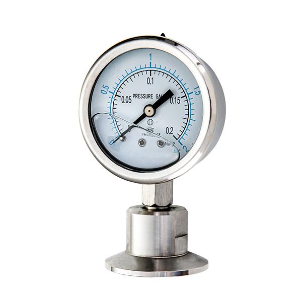 63mm  filled pressure gauge with diaphragm  OKT-17
