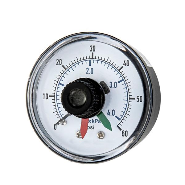 50mm bottom  pressure gauge withred mark adjustable pointer OKT-57